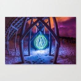 Ocean Orb Canvas Print