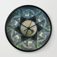 milk Wall Clocks featuring milk by Vin Zzep