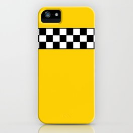 NY Taxi Cab Cosplay iPhone Case