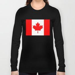 Flag of Canada - Canadian Flag Long Sleeve T-shirt