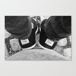 The Two Toms Canvas Print