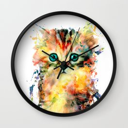 Kitten Wall Clock