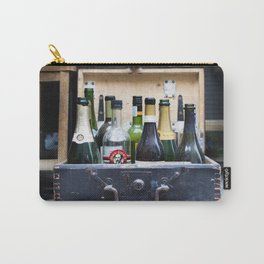 Vintage Bottle Bar Carry-All Pouch