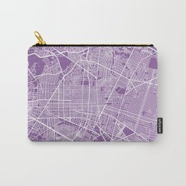 Guadalajara map lilac Carry-All Pouch