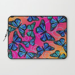 Cool Monarchs at Sunset Laptop Sleeve