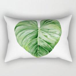 Tropical Leaf. Rectangular Pillow