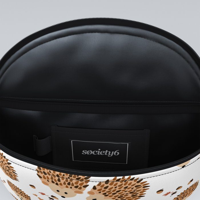Hedgehogs in autumn Fanny Pack
