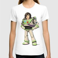 buzz lightyear T-shirts featuring Woody Lightyear (colour) by Other People's Characters