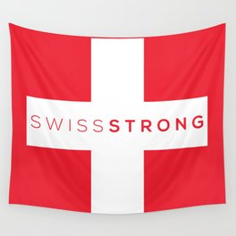 Swiss Strong Wall Tapestry