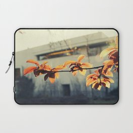 nature vs museum Laptop Sleeve