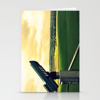 battlefield Stationery Cards featuring Overlooking the battlefield by Danielle W