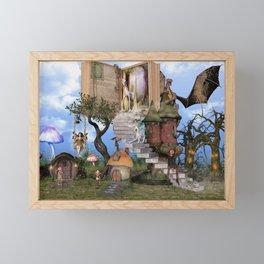Bringing stories to life Framed Mini Art Print