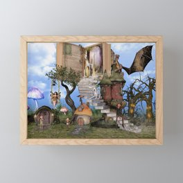 Bringing stories to life Framed Mini Art Print