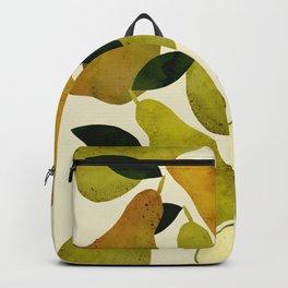 mediterranean pears watercolor Backpack