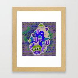 SIZZURP Framed Art Print