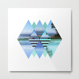Sweden In A Different Perspective Metal Print