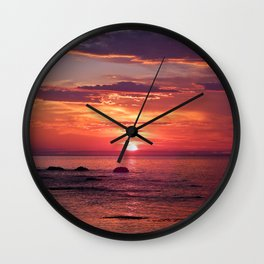 The Flamboyant One Wall Clock