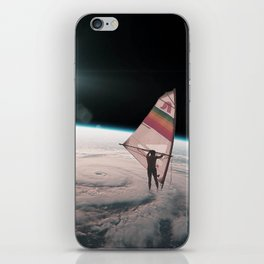 Well on the way, head in a cloud iPhone Skin
