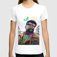biggie smalls T-shirts featuring Biggie by Kibwe Maono