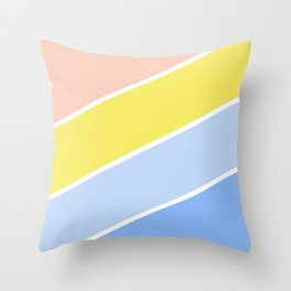 Bright - Lille France Throw Pillow