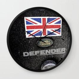 Land Rover Union Jack Wall Clock
