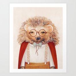 Hedgehog Kunstdrucke