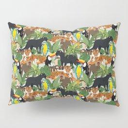 Jungle Pattern Pillow Sham
