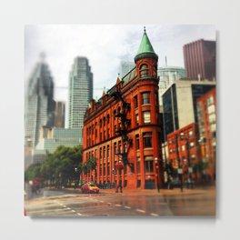 Toronto's Flatiron Metal Print
