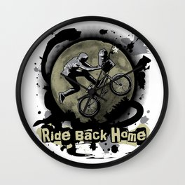 Ride Back Home Wall Clock