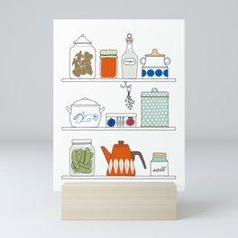 Scandinavian Pantry Mini Art Print