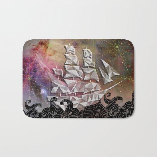 Celestial Ship Bath Mat