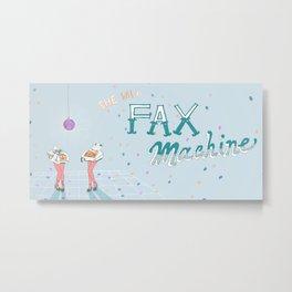 A Fax Machine Metal Print