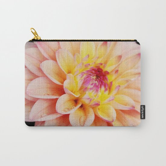 Light Pink Dahlia #2 Carry-All Pouch