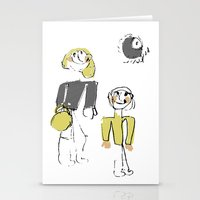 shopping Stationery Cards featuring shopping by Josephine Walz