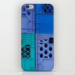 Milk Crates iPhone Skin