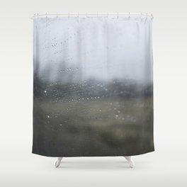 Raindrops on the Window Shower Curtain