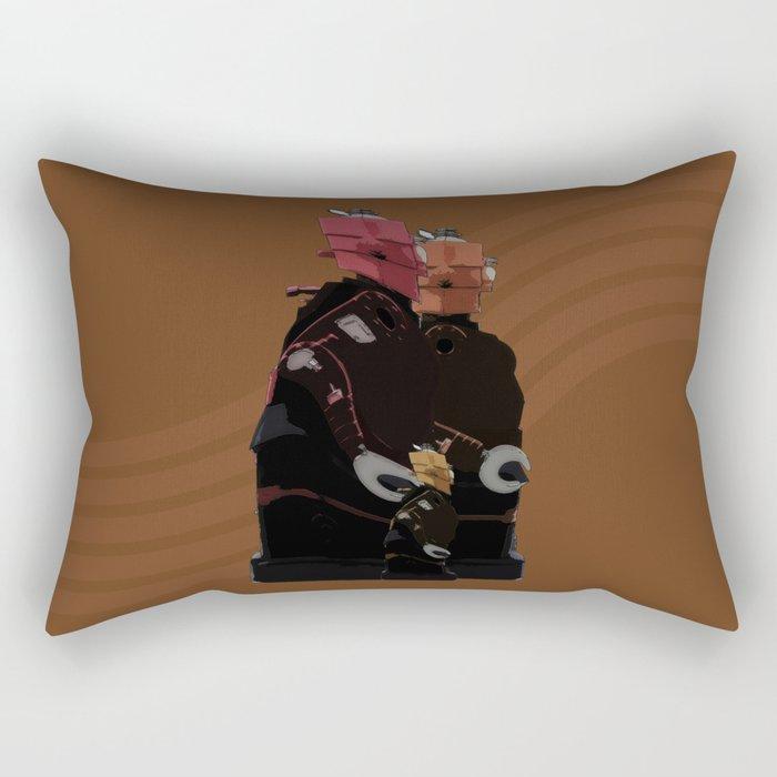 Family Unit Rectangular Pillow