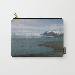 glacial lagoon Carry-All Pouch
