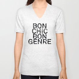 Bon Chic Bon Genre Unisex V-Neck