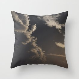 Approaching Front (Cloud series #7) Throw Pillow