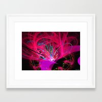 firefly Framed Art Prints featuring Firefly by Roger Wedegis