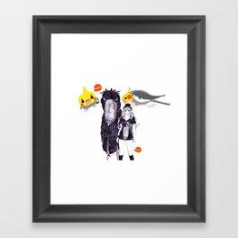 BIRD ZOO Framed Art Print