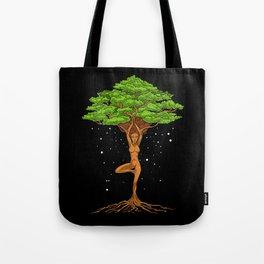 Tree Of Life Zen Yoga Tote Bag