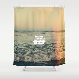 Jealousy Shower Curtain