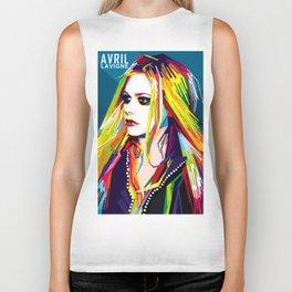 WPAP Avril Lavigne Biker Tank