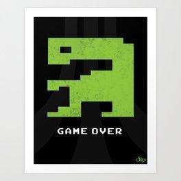 E.T. Atari Art Print