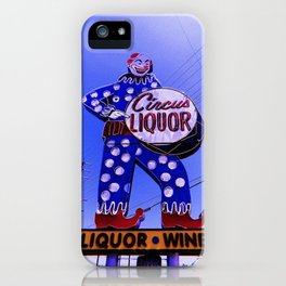 CIRCUS LIQUOR iPhone Case