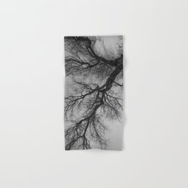 Lungs of the Earth | Nature Photography | Weeping Willow | Black and White | black-and-white | bw Hand & Bath Towel