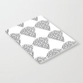Diamond Repeat Pattern Notebook