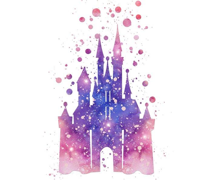 Disneys Cinderella Castle  Metal Travel Mug